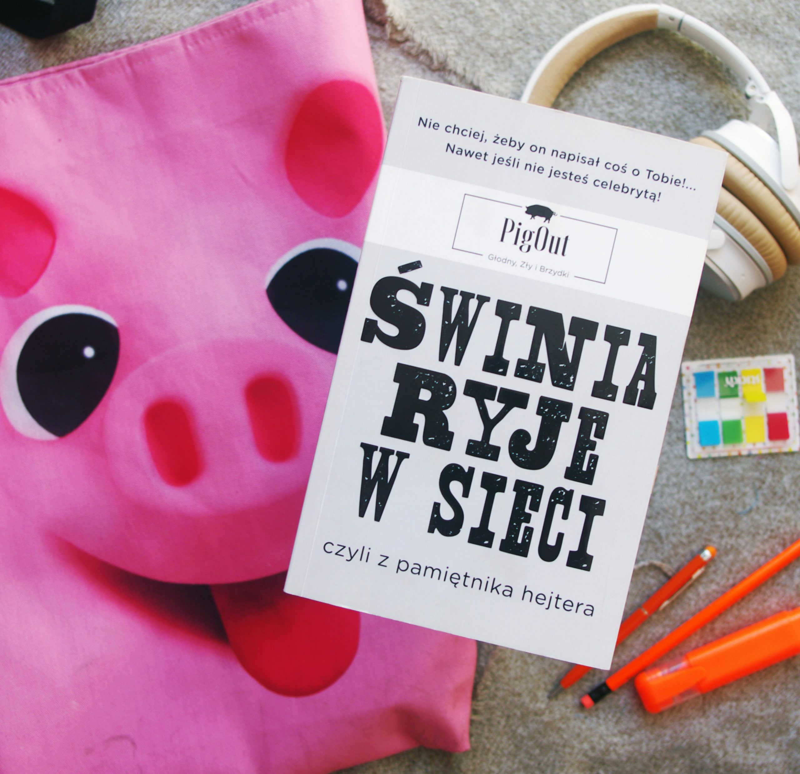 Świnia ryje w sieci, czyli z pamiętnika hejtera. Recenzja
