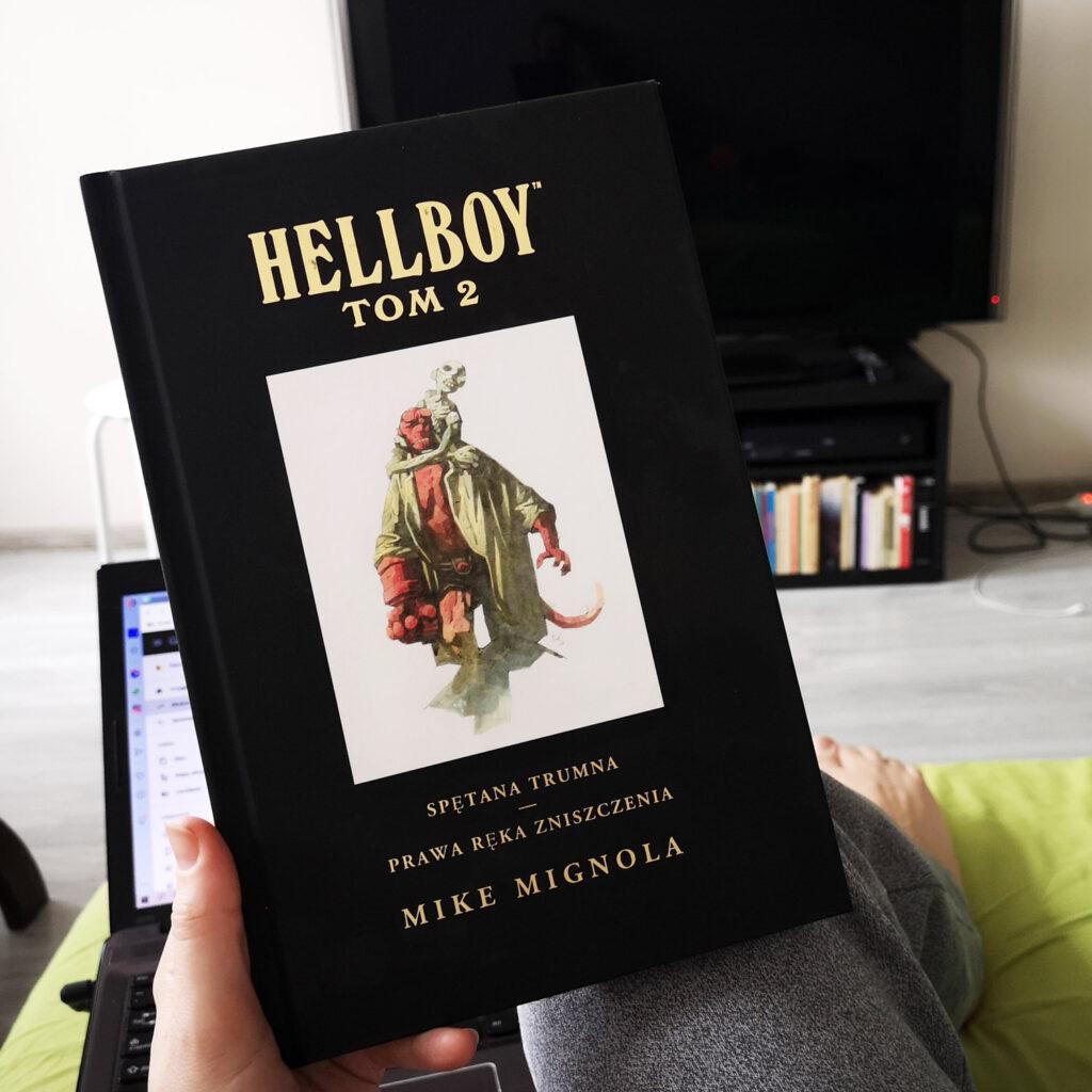 Hellboy: Spętana trumna / Prawa ręka zniszczenia, t. 2